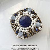 Украшения handmade. Livemaster - original item The Brooch Is A Treasure Of Aphrodite.. Handmade.