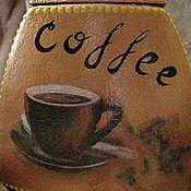 Для дома и интерьера ручной работы. Ярмарка Мастеров - ручная работа Coffee Чашка кофе - Банка для кофе. Handmade.