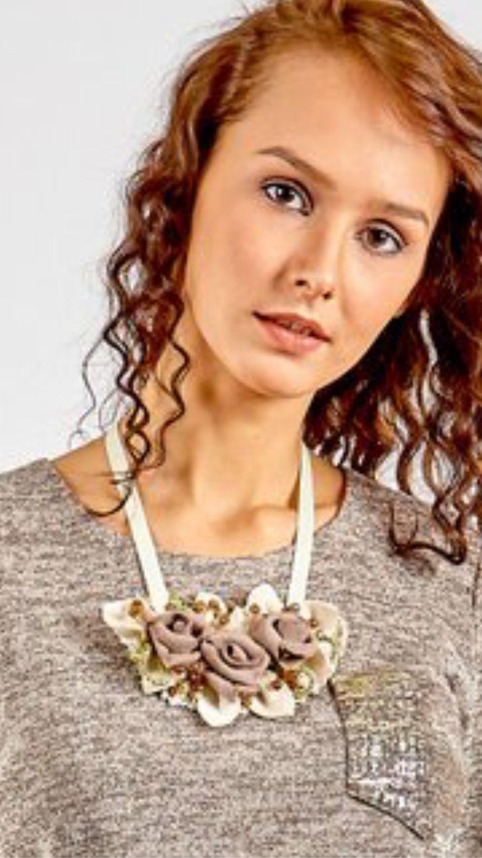 Necklace 'Creamy dessert', Necklace, Kaluga,  Фото №1