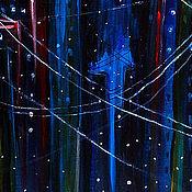 """Картины и панно ручной работы. Ярмарка Мастеров - ручная работа Картина красками """"Призрак"""". Handmade."""