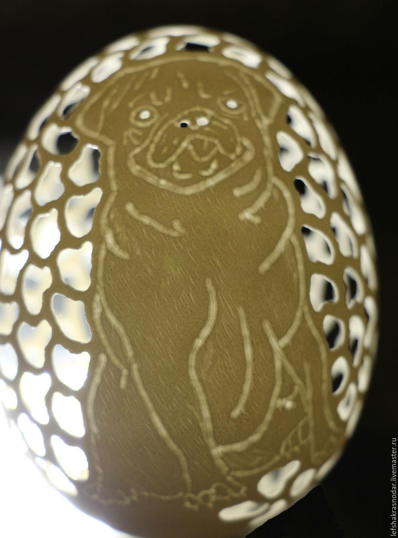 Резьба по яичной скорлуп в домашних условия 470