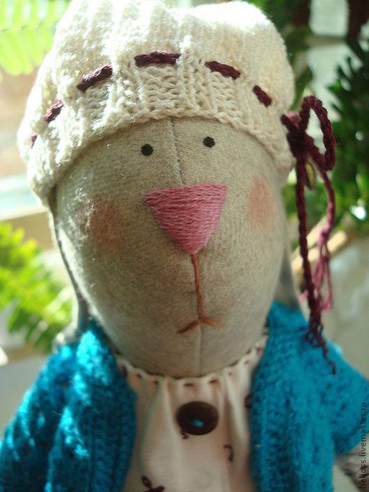 Куклы Тильды ручной работы. Ярмарка Мастеров - ручная работа. Купить Зайка Лина. Handmade. Тильда, шерсть