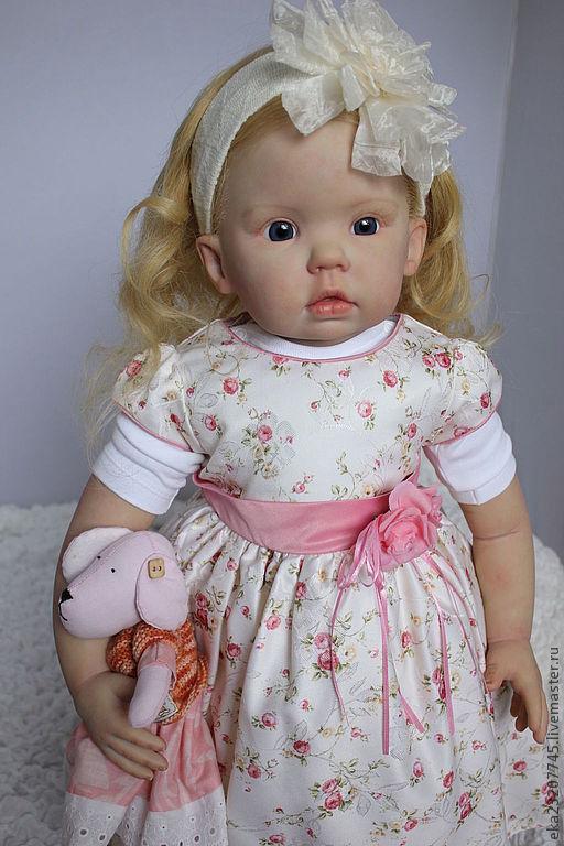 Куклы-младенцы и reborn ручной работы. Ярмарка Мастеров - ручная работа. Купить Кукла реборн Александра -Алиса. Handmade.