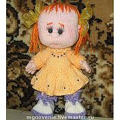 Куклы и игрушки ручной работы. Ярмарка Мастеров - ручная работа Кукла-Пупс Вязаный. Handmade.