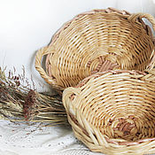 Для дома и интерьера handmade. Livemaster - original item Baskets, set of