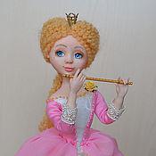 """Куклы и игрушки ручной работы. Ярмарка Мастеров - ручная работа """" Принцесса и флейта """". Handmade."""
