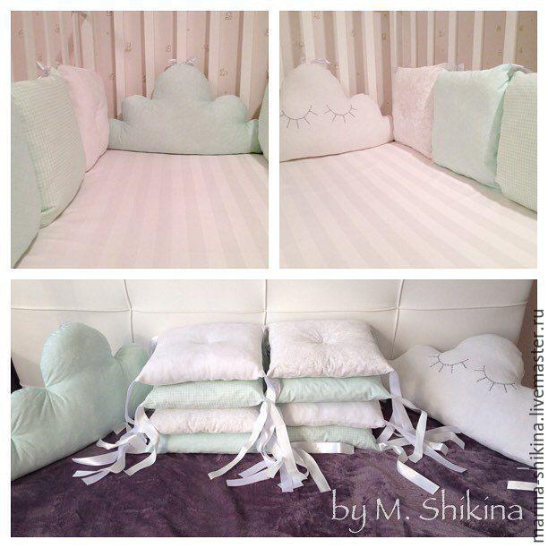 Подушечки на кроватку