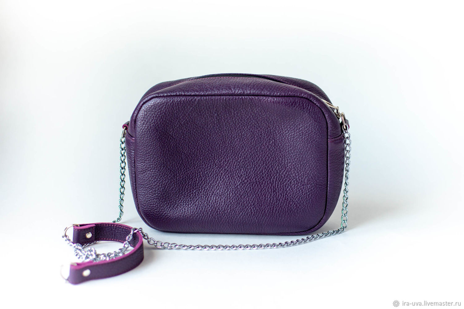 Purple bag with a long strap, Crossbody bag, Moscow,  Фото №1