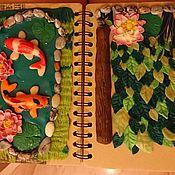 Блокноты ручной работы. Ярмарка Мастеров - ручная работа Декорирование блокнота или шкатулки. Handmade.