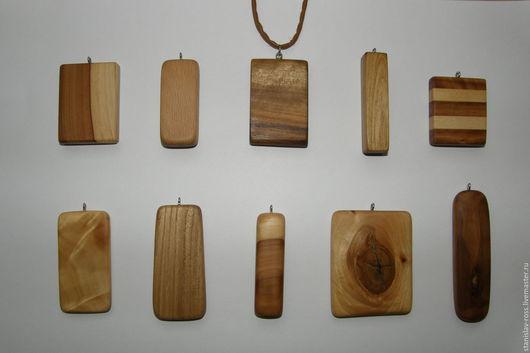 Кулоны, подвески ручной работы. Ярмарка Мастеров - ручная работа. Купить Кулон из натурального дерева. Handmade. Кулон, бежевый, дуб