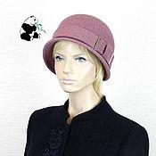Аксессуары handmade. Livemaster - original item Stylish lady`s hat. 100% wool. Four colors.. Handmade.