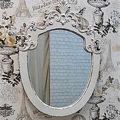 """Для дома и интерьера ручной работы. Ярмарка Мастеров - ручная работа Зеркало в античной раме.Коллекция """" Vintage"""". Handmade."""