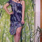 Одежда ручной работы. Ярмарка Мастеров - ручная работа платье БЕЗДНА. Handmade.