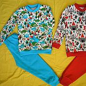 Одежда ручной работы. Ярмарка Мастеров - ручная работа Пижама детская. Handmade.
