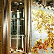 Для дома и интерьера ручной работы. Ярмарка Мастеров - ручная работа Панно зеркальное -клен. Handmade.