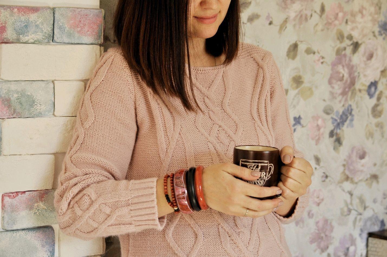'Spicy forest' Bracelets jewelry set made of wood jewelry, Bracelet set, Yeisk,  Фото №1
