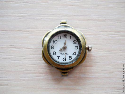 Для украшений ручной работы. Ярмарка Мастеров - ручная работа. Купить Часы основа. БРОНЗА. Часы для браслета.. Handmade. Часы