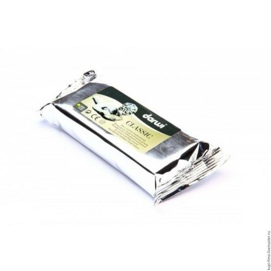 Для украшений ручной работы. Ярмарка Мастеров - ручная работа. Купить Самозастывающая глина Darwi Classic белый 250г. Handmade.