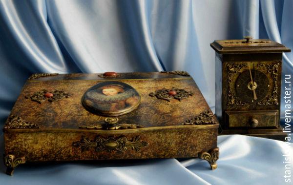 Boudoir set 'Worthless lilies spin', Box, Mezhdurechensk,  Фото №1