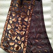 Винтаж handmade. Livemaster - original item Vintage accessories: a scarf Panne, vintage Germany. Handmade.