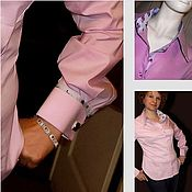 Одежда handmade. Livemaster - original item Shirt women`s business