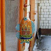 Колокольчики ручной работы. Ярмарка Мастеров - ручная работа Колокольчик: Сарапульский рыб. Handmade.