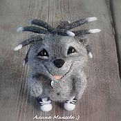Куклы и игрушки ручной работы. Ярмарка Мастеров - ручная работа Модный Ёж. Handmade.