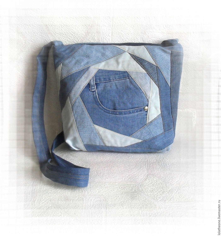 516543c96b8e Женские сумки ручной работы. Ярмарка Мастеров - ручная работа. Купить Джинсовая  сумка Crazy Style ...