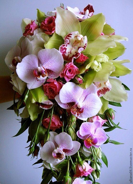 Донецк букет орхидея фото
