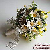 Свадебный салон ручной работы. Ярмарка Мастеров - ручная работа Ромашковый Свадебный Набор. Handmade.