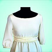 """Одежда ручной работы. Ярмарка Мастеров - ручная работа Платье """"Сливки"""" для будущих мам. Handmade."""