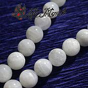 Материалы для творчества handmade. Livemaster - original item Moonstone 10 mm smooth beads (natural stone). Handmade.