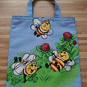 """Работы для детей, ручной работы. Ярмарка Мастеров - ручная работа Детские сумочки """"Пчёлки"""". Handmade."""