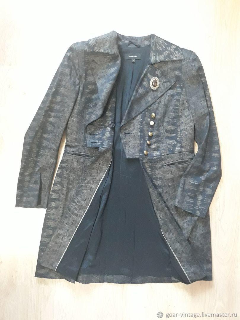 fe0b5e5d5e10 ... фрак Винтажная одежда и аксессуары. Винтаж  Дизайнерский, удлиненный  жакет, пиджак, ...