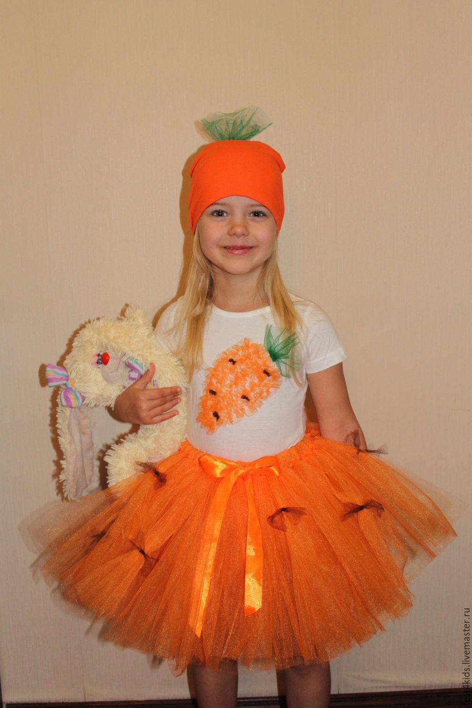 Как сделать морковку из ткани на утренник