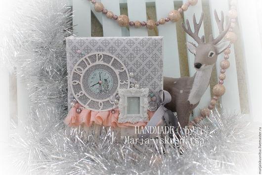 """Блокноты ручной работы. Ярмарка Мастеров - ручная работа. Купить Новогодний блокнот """"Merry Christmas"""". Handmade. Блокнот ручной работы"""