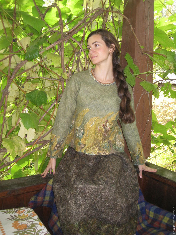 Оливковый пуловер доставка