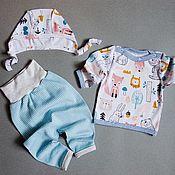 Комплекты одежды ручной работы. Ярмарка Мастеров - ручная работа Комплект для малыша. Handmade.