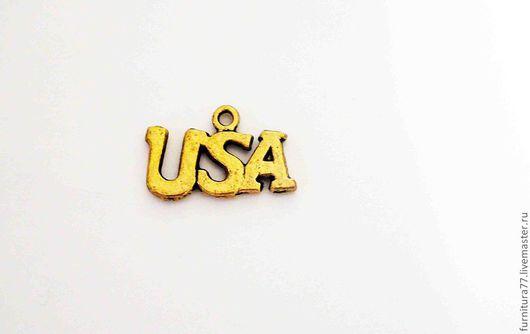 Для украшений ручной работы. Ярмарка Мастеров - ручная работа. Купить Подвеска США USA. Handmade. США, usa, для украшений