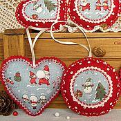 Подарки к праздникам handmade. Livemaster - original item christmas toys of felt