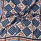 "Винтаж: Платок ""Цветочная мозаика"",Crepe-Royal,шелк,Англия. Аксессуары винтажные. Леди Шарм. Интернет-магазин Ярмарка Мастеров.  Фото №2"