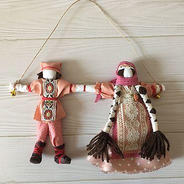 Куклы и игрушки ручной работы. Ярмарка Мастеров - ручная работа Куклы: Оберег Неразлучники. Handmade.