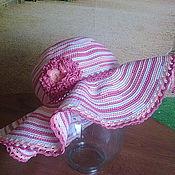Аксессуары ручной работы. Ярмарка Мастеров - ручная работа Шляпа вязаная(готовая работа)СКИДКА. Handmade.