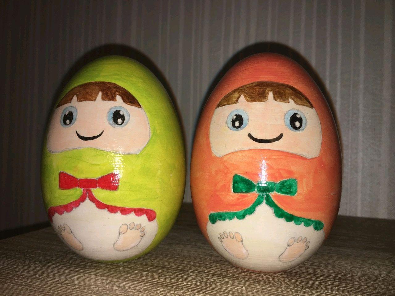 Музыкальные яйца-неваляшки, Шарики, Минск, Фото №1