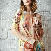 Одежда handmade. Livemaster - original item Asymmetric blouse