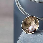 Украшения handmade. Livemaster - original item Pendant with natural pearls