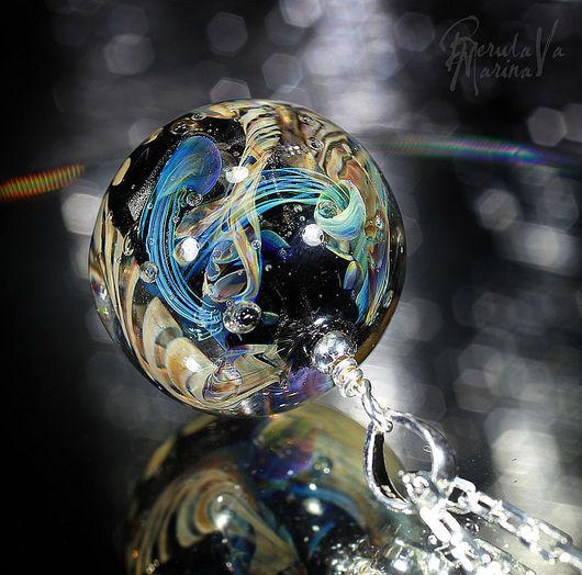 """Кулоны, подвески ручной работы. Ярмарка Мастеров - ручная работа. Купить Кулон """"Подводное царство"""". Handmade. Марина Берулава, кулон"""