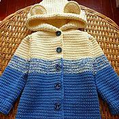 """Работы для детей, ручной работы. Ярмарка Мастеров - ручная работа Пальто """"Медвежка"""". Handmade."""