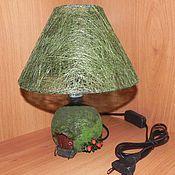 Для дома и интерьера ручной работы. Ярмарка Мастеров - ручная работа Лампа-ночник в детскую. Handmade.
