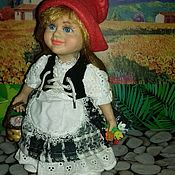 Куклы и пупсы ручной работы. Ярмарка Мастеров - ручная работа Куклы и пупсы: Красная Шапочка. Handmade.